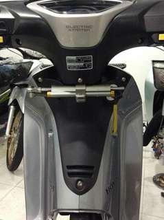 Honda wave meter cover