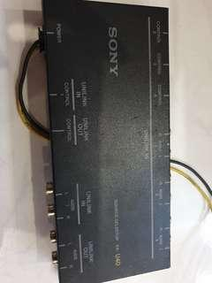 Sony car  audio Source Selectors