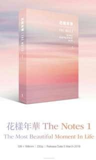 [PRE-ORDER] BTS THE NOTES 1 SMERALDO BOOK/ BOOKS