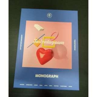 TWICE twicetagram LIKEY Monograph