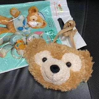 Duffy可愛玩偶包包附卡夾