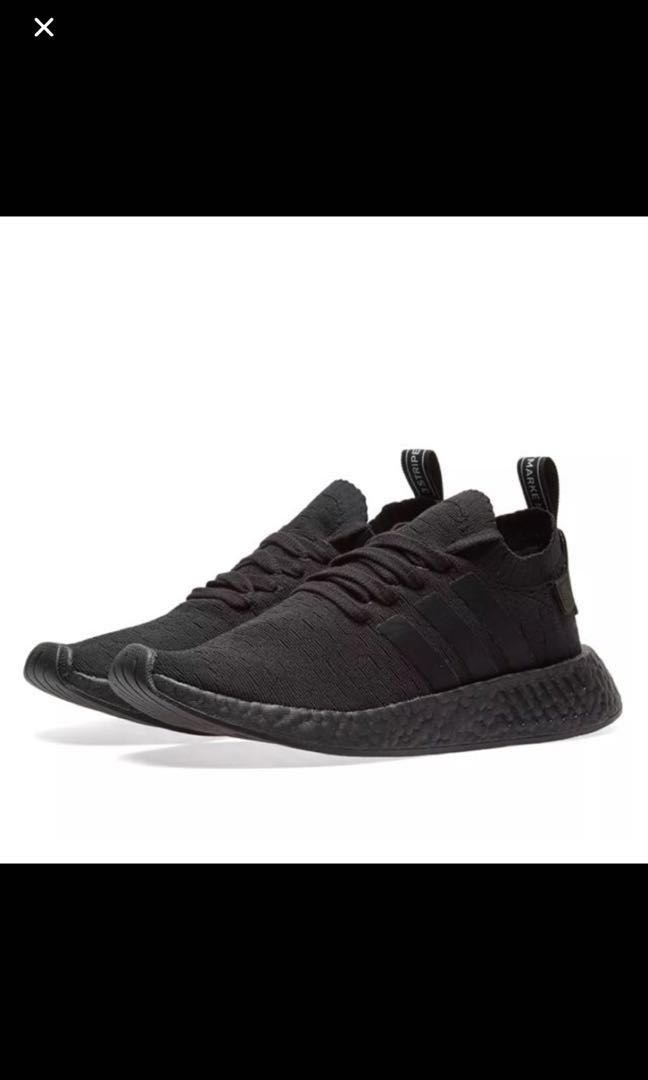4f4f6529fa9 Adidas NMD R2 Triple Black