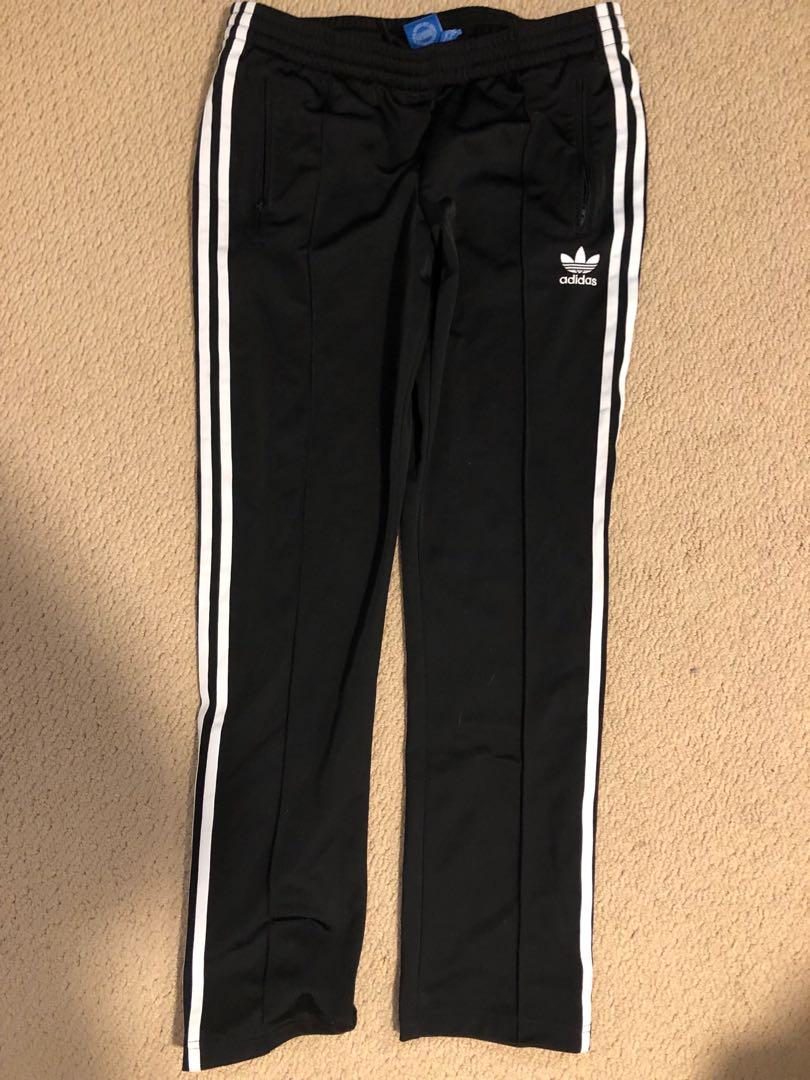Adidas track pants-black- Size M