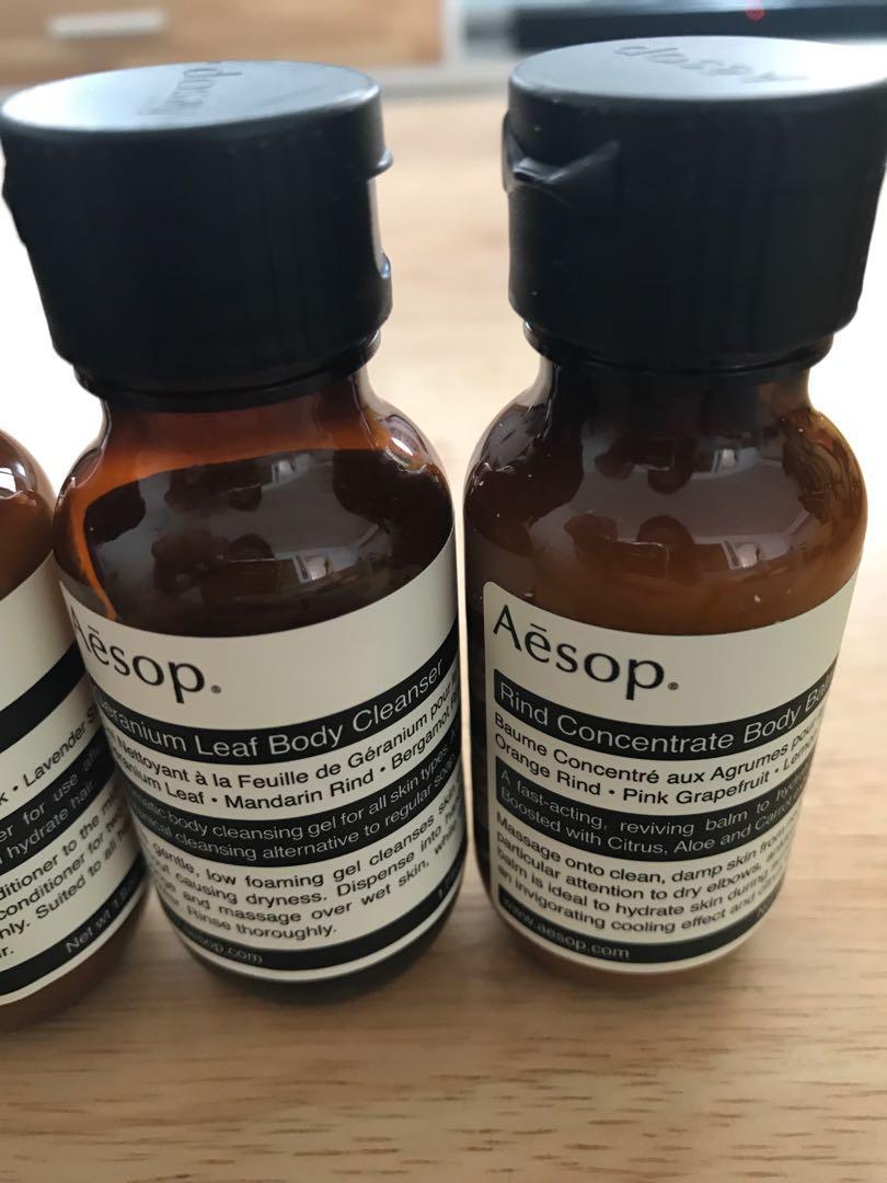Aseop travel kit