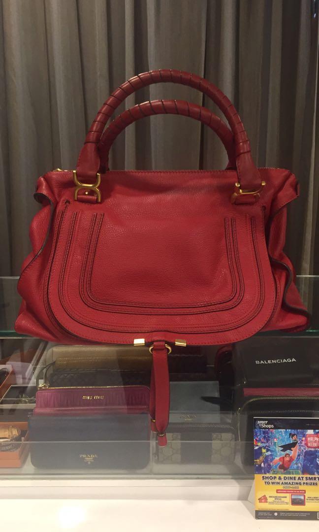 5a0127da0bf Authentic Chloe Marcie Bag, Luxury, Bags & Wallets, Handbags on ...