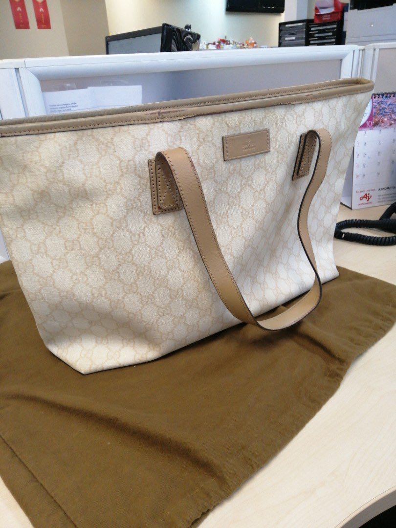 b159242b4 Authentic| GUCCI Handbag w dust bag, Luxury, Bags & Wallets ...