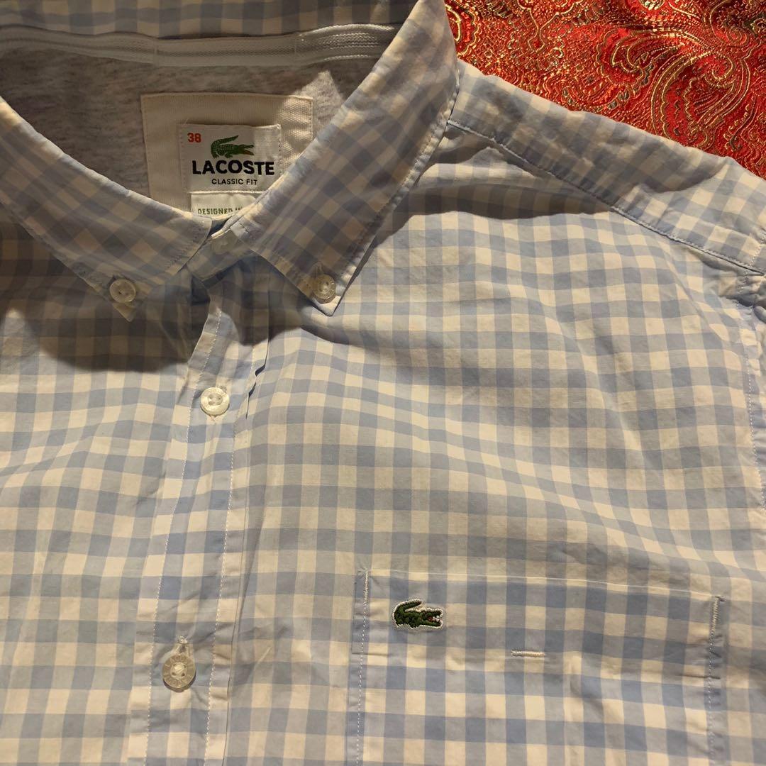 a16eb620c Authentic Lacoste button front dress shirt
