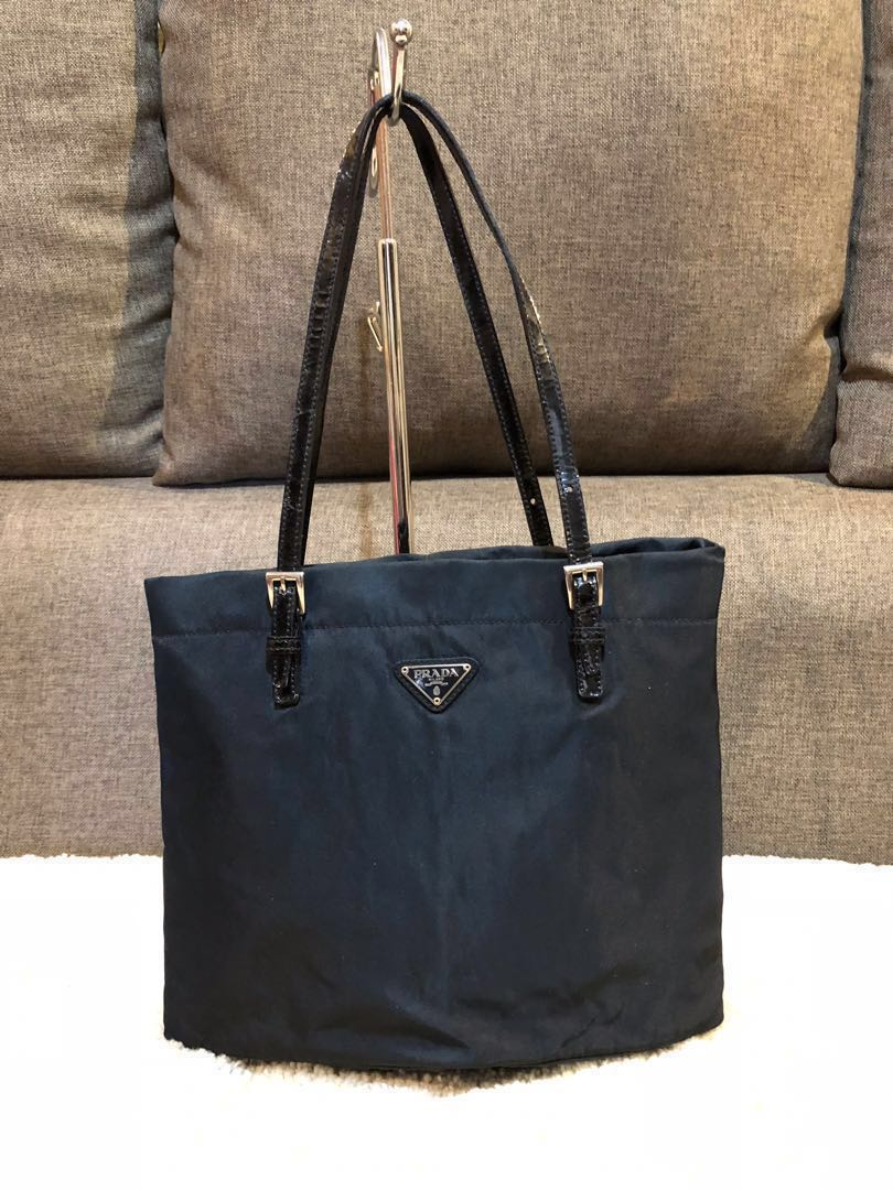 1e2c0c4be0 Authentic Prada Nylon Small Tote Bag