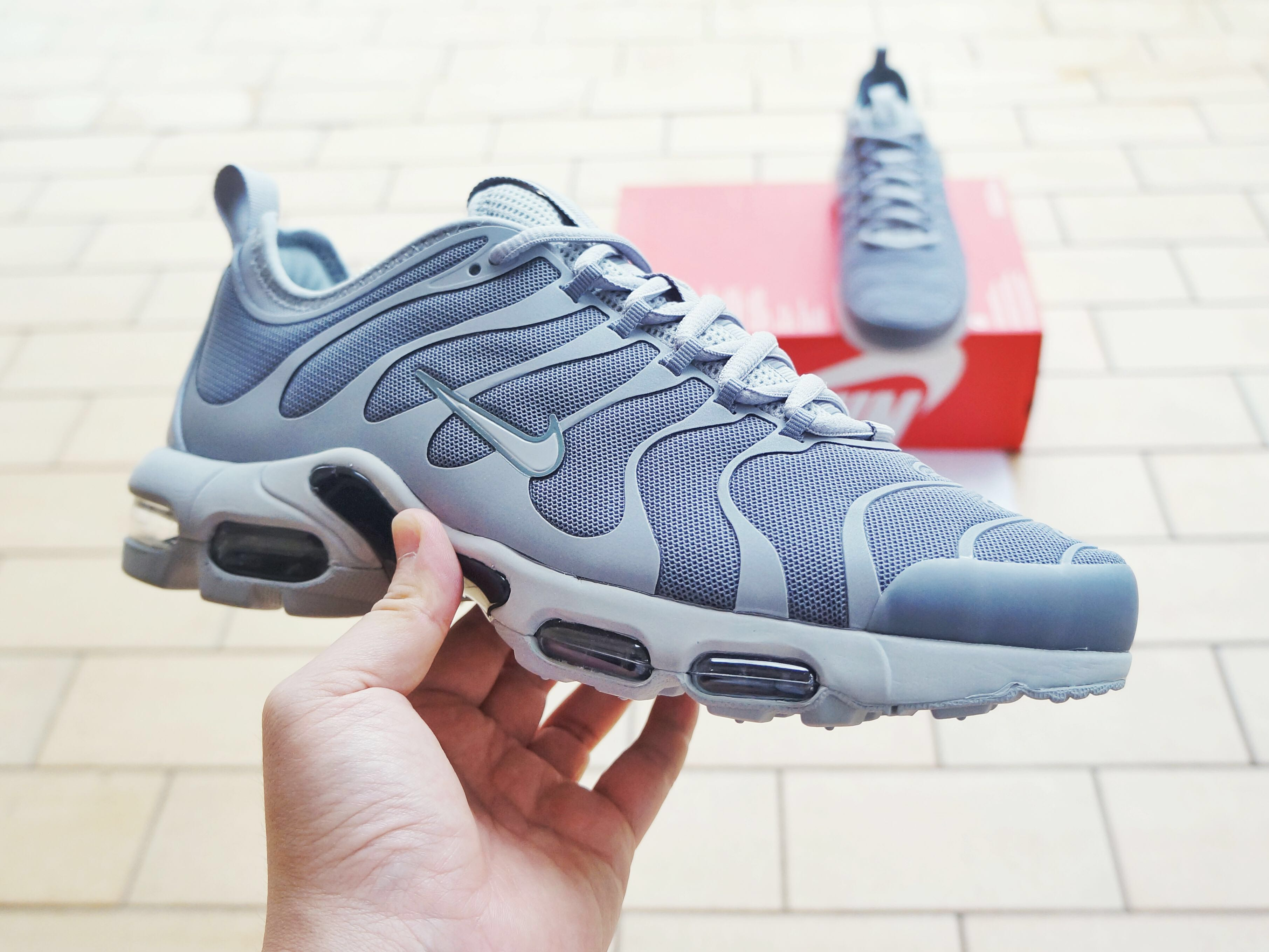 competitive price cb12a 2f06a BN) Nike Air Max Plus TN Ultra Wolf Grey Men s US9   UK8, Men s ...