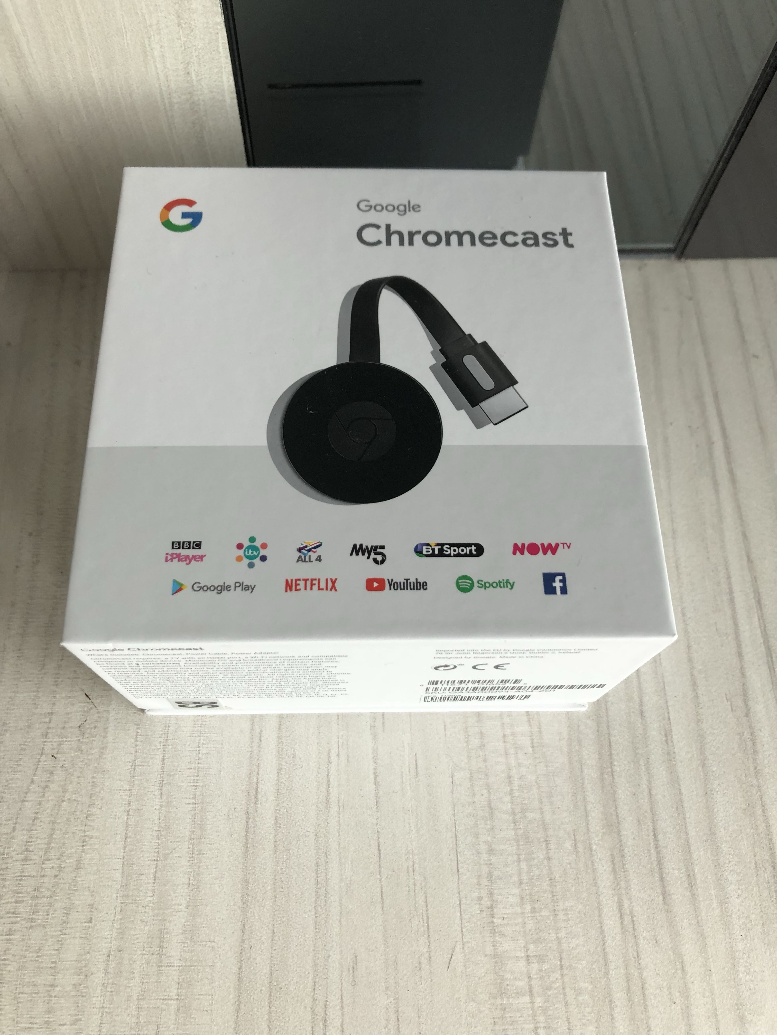 Brand new Google Chromecast