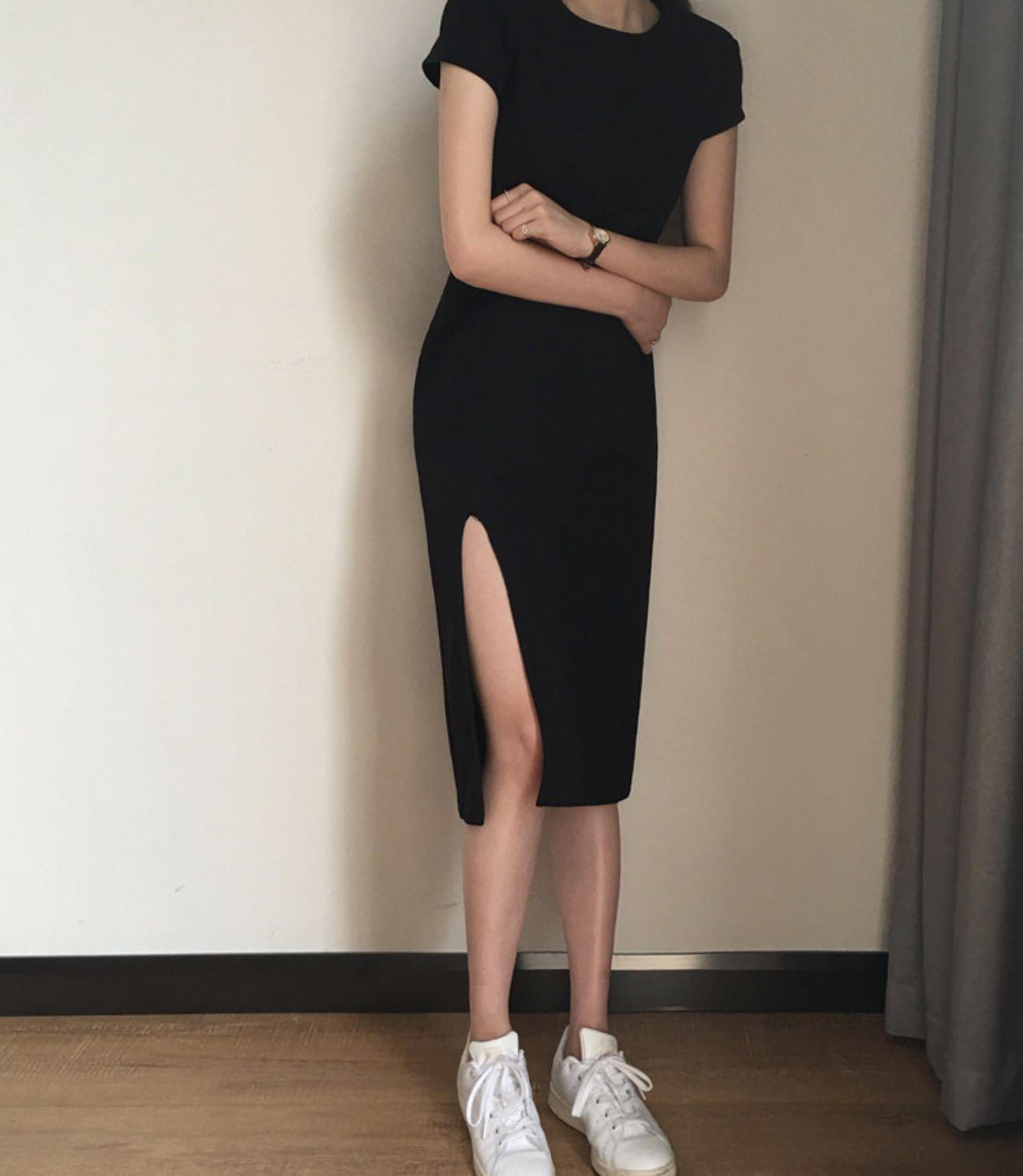 🔥Clearance🔥Sexy Side Slit LBD