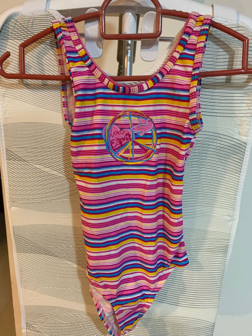 9e55031a6a773 Esprit swimming costume, Babies & Kids, Girls' Apparel, 8 to 12 ...
