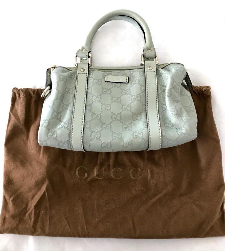 377cfa724fc8 Gucci Guccissima Boston bag (small: 24x14cm), Luxury, Bags & Wallets ...