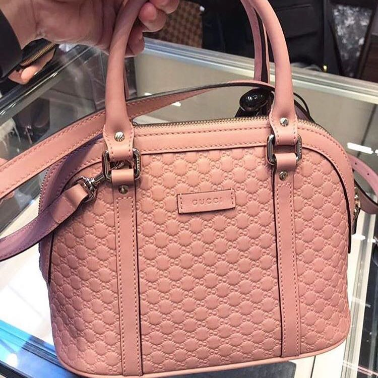 f0efed63 Gucci Mini Dome in Dusty Pink