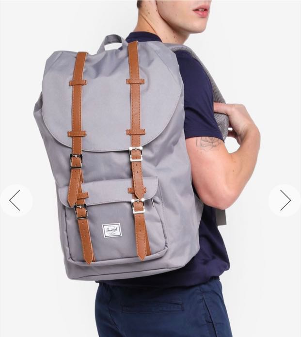 Herschel Little America Backpack (Grey) 265c88a19872a
