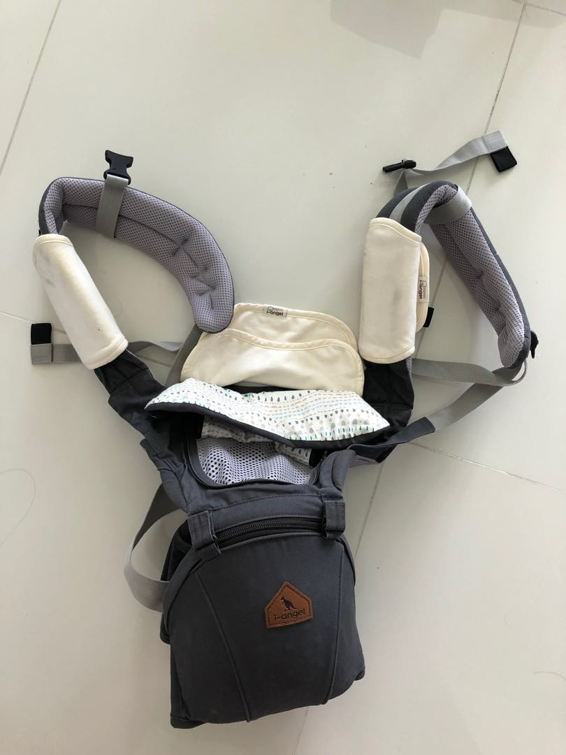 734fca43bed I-Angel Baby carrier with hipseat