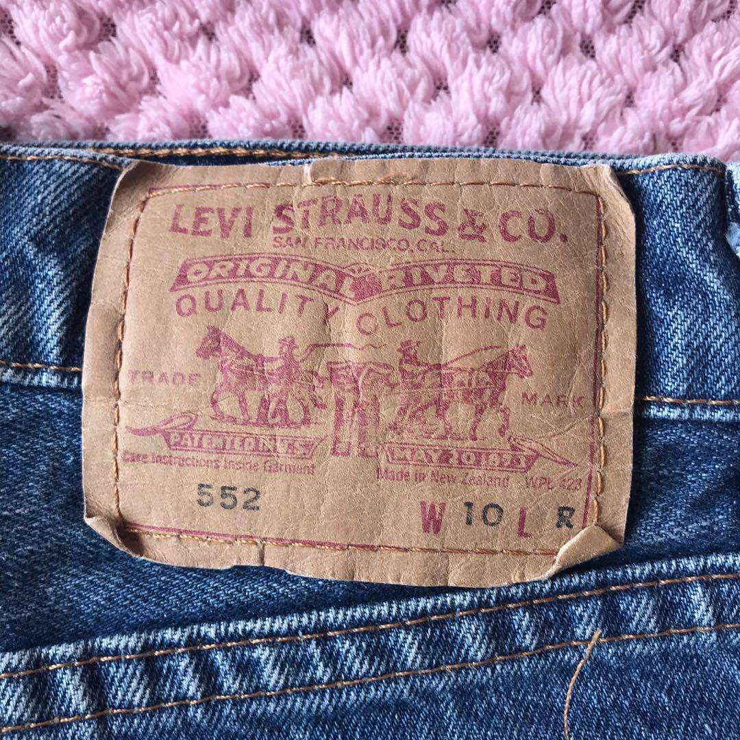 Levi 552 shorts