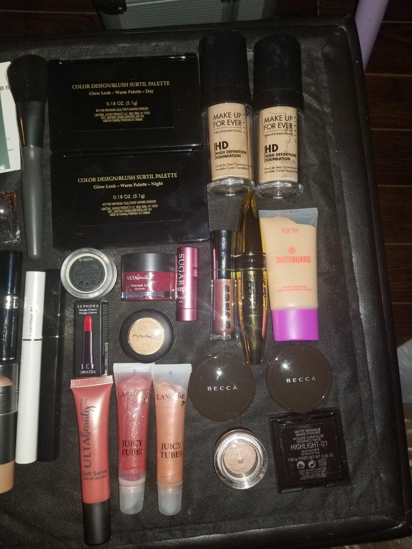Makeup - tarte, makeup forever, Lancome, becca and more