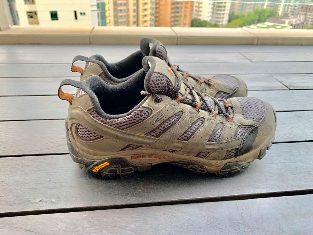7a5e30eef577e Merrell MOAB 2 GTX Men's Gore-Tex Low-Cut Hiking Shoes, Men's ...