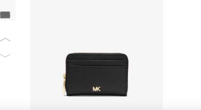 f0d625d8fa82 Michael Kors Black Small Pebbled Leather Wallet (BRAND NEW, BLACK ...