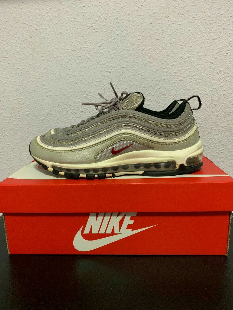 0d88aea0e4 Nike Air Max 97 OG QS, Men's Fashion, Footwear, Sneakers on Carousell