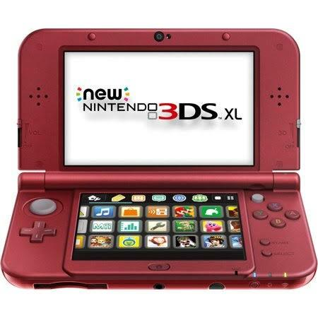 Nintendo 3DS XL new model (MODS FOC)