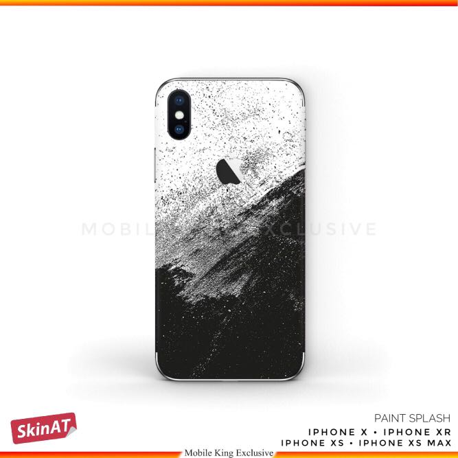 finest selection 6bc5d 05949 Paint Splash Graphic 3M Skin Wrap Decal Vinyl Stickers for iPhone X, Xs, Xs  Max, XR