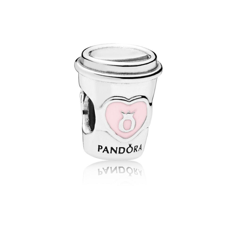0c904a4fc Pandora Authentic Coffee Mug Charm, Luxury, Accessories, Others on ...
