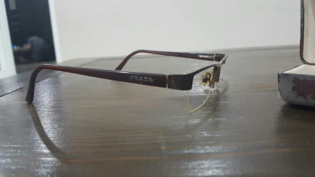 Frame Kacamata Prada Authentic