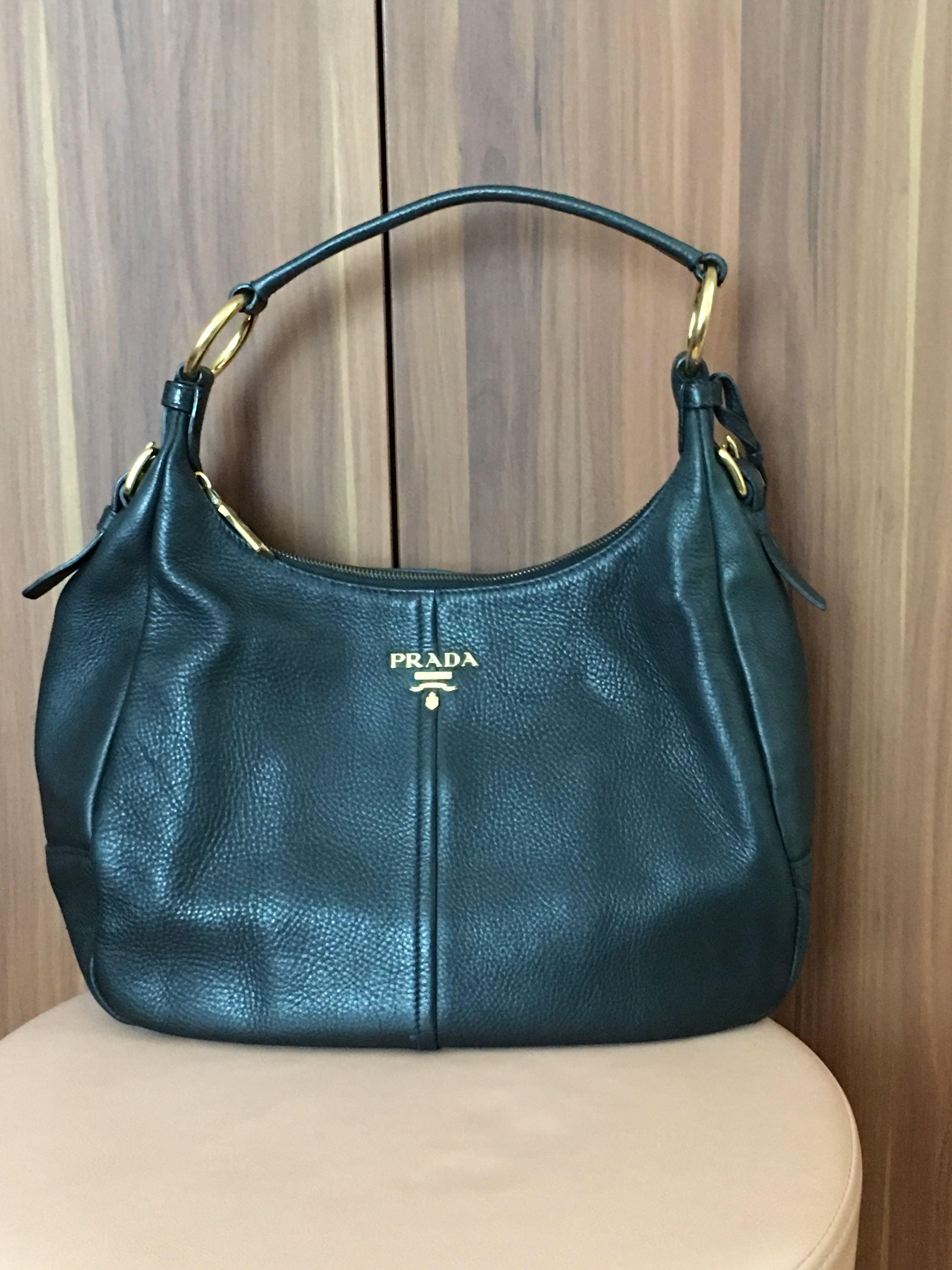 0d274fb2aee Prada Hobo Bag - Authentic