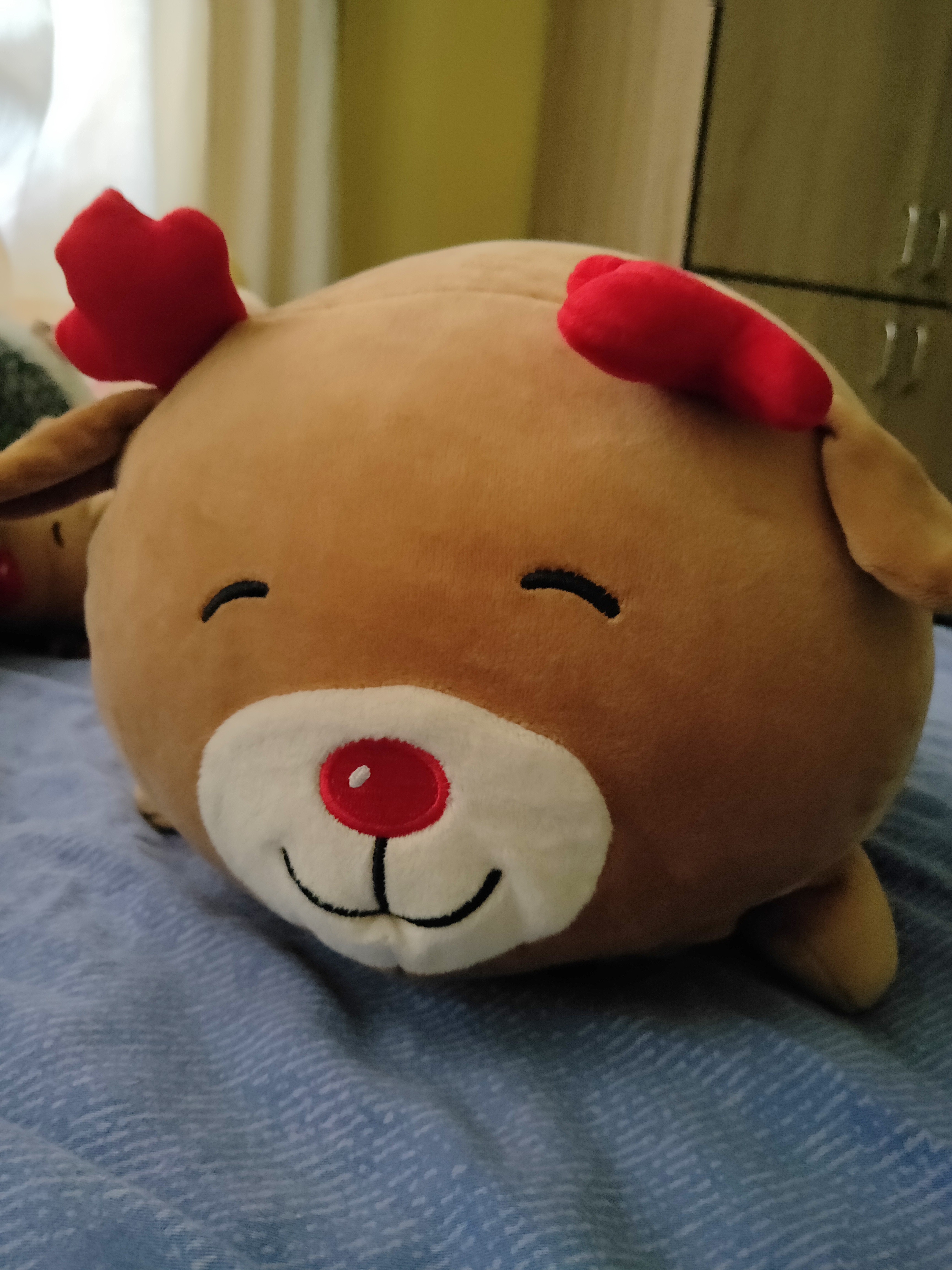 Rudolph the Red Nose Reindeer Plush Toy 1b640982c