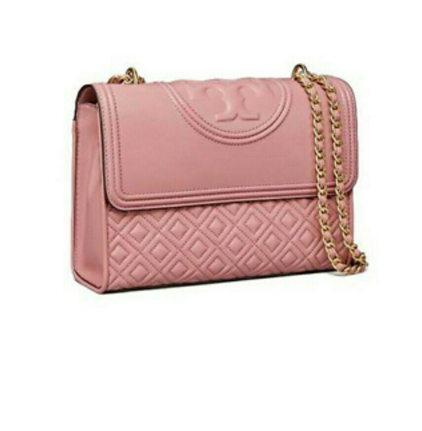 336b559b8a298 💕SALE Tory Burch dusty pink Fleming large