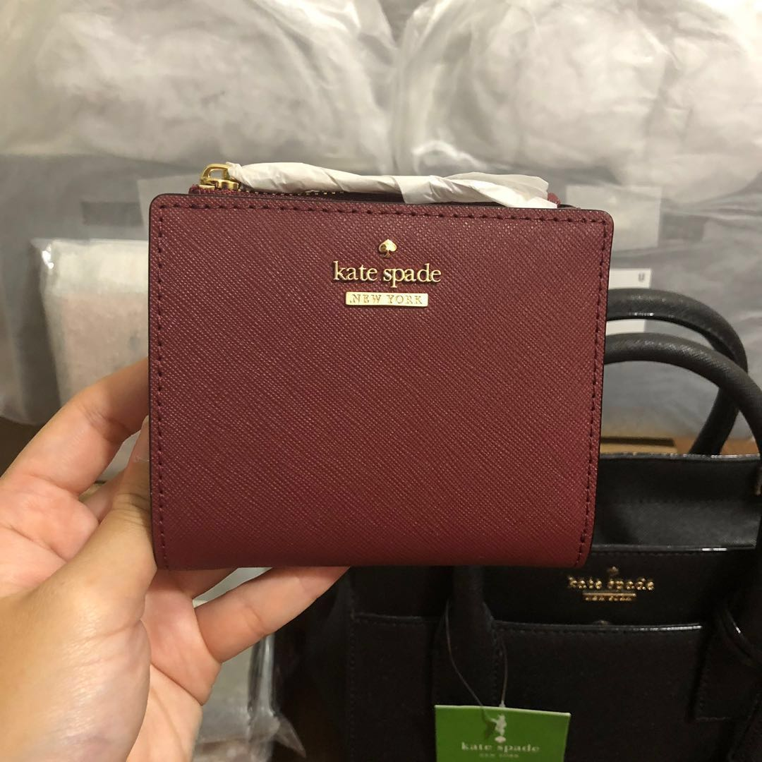 470b700f6 SOLD] RARE INSTOCK Kate Spade Cameron Street Adalyn Small Bifold ...