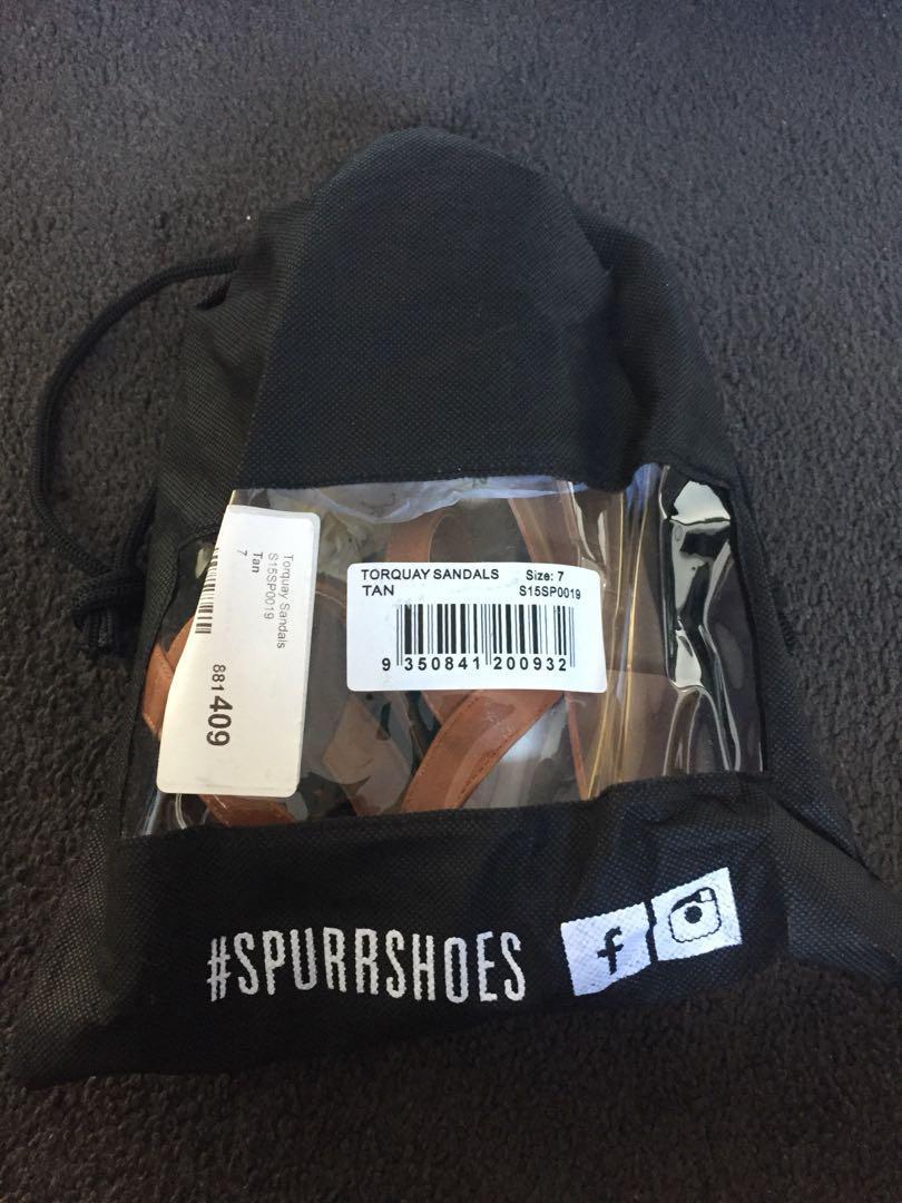 Spurr Tan Sandals
