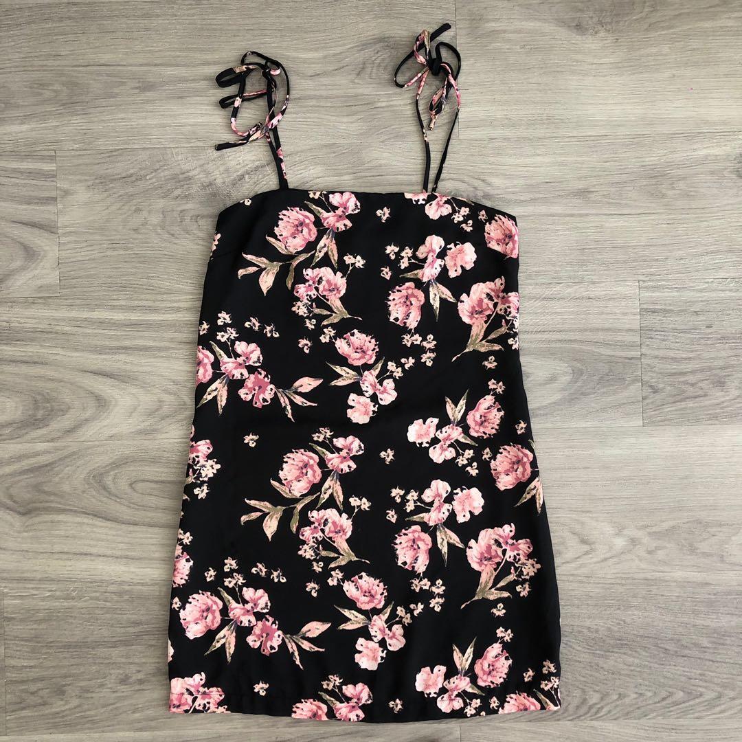 Topshop Floral Shift Dress