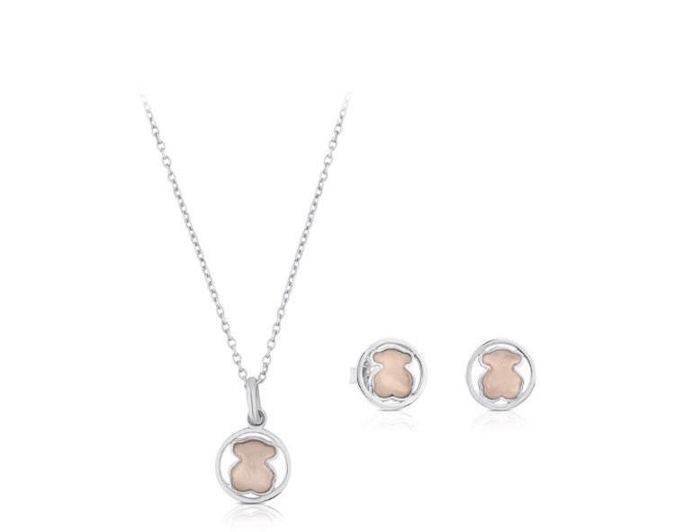 630d0691f Tous camille necklace and earrings set, Women's Fashion, Jewellery ...