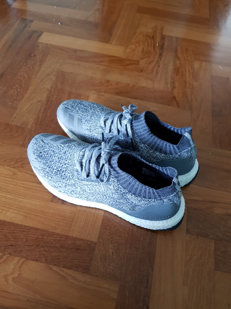 best service f23b5 b0b94 UK10 US10.5 Adidas Ultraboost Uncaged 4.0 Grey (DA9159), Comes with box.,  Men s Fashion, Footwear, Sneakers on Carousell
