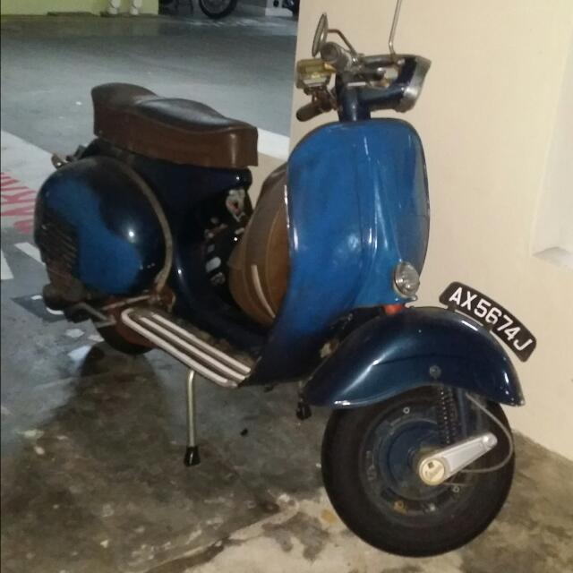 How To Start A Vespa
