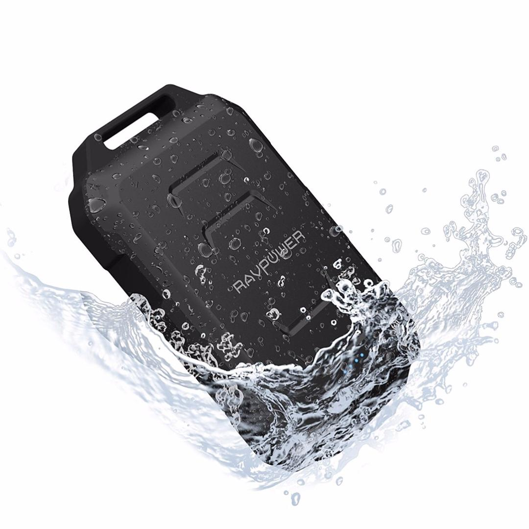 Waterproof and Robust 10050mAh Outdoor Power Bank by RAVPower RP - PB044