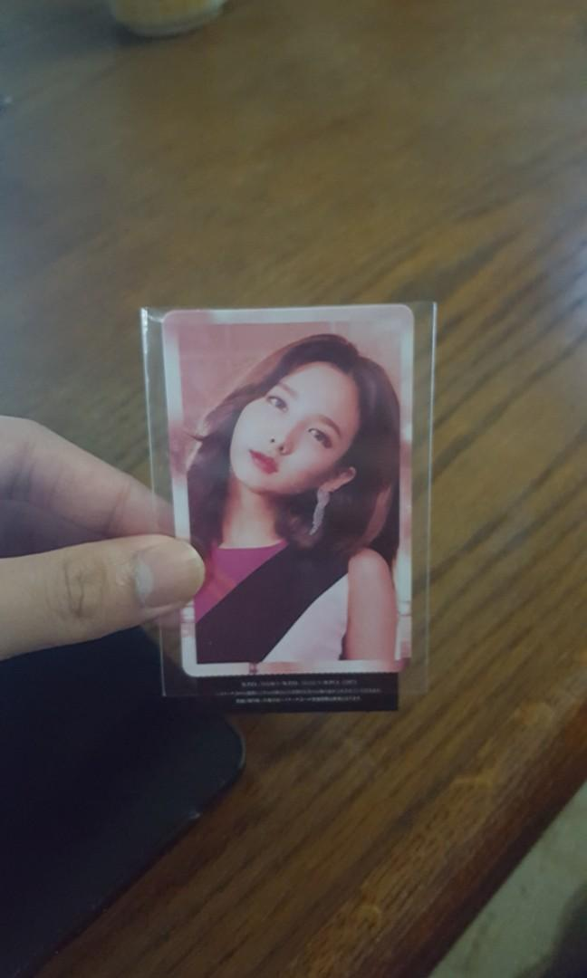 Wts Twice Wake Me Up Nayeon Unpunched Photocard Entertainment K