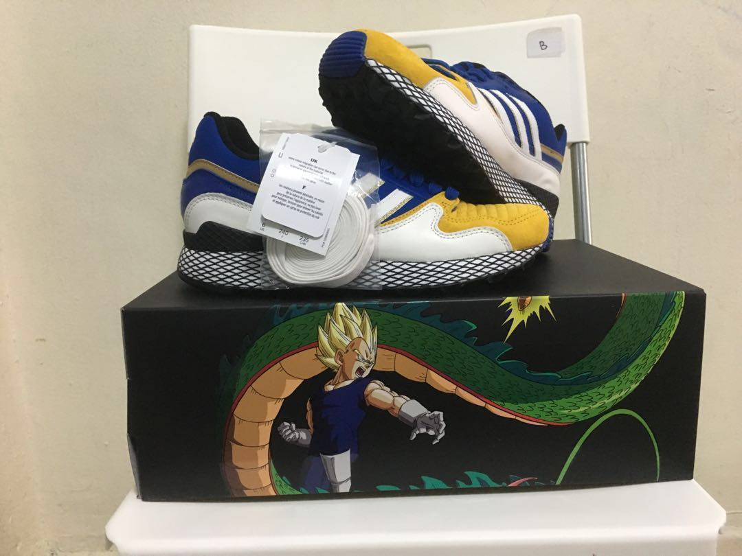 "6b97657876b WTS WTT Dragon Ball Z x adidas Ultra Tech ""Vegeta"" US 6 UK 5.5 ..."