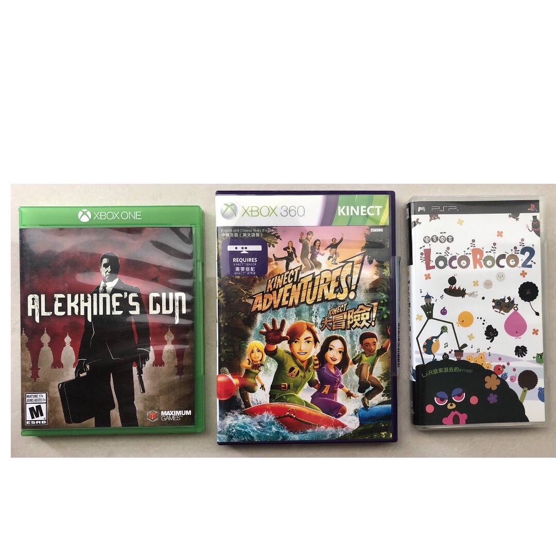 Xbox One  Xbox 360  PSP