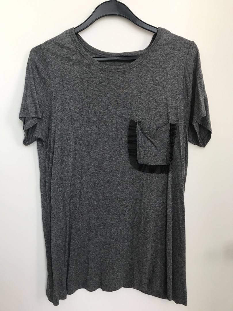 c425ab9bd57766 Zara Collection Tee (pre loved), Women's Fashion, Clothes, Tops on ...