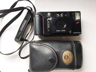🚚 [附皮套背帶]Minolta MAC-DUAL 雙定焦 底片相機