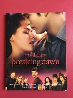 BREAKING DAWN part 1 Illustrated guide book