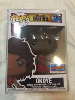 Okoye Comic con exclusive funko pop