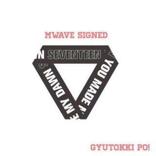 [SIGNED] Seventeen 6th Mini Album You Made My Dawn Mwave Signed Album