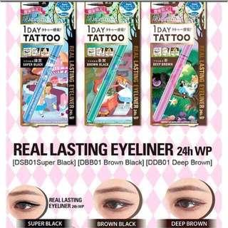 K-PALETTE DISNEY EDITION 1 DAY TATTOO 24H WP EYELINER