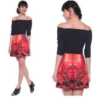 🚚 Love Bonito Adelais Printed skirt