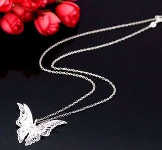 Butterfly 3D Necklace